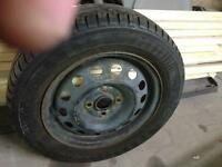 175/65/14 part worn tyre on Honda rim