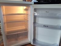WHIRLPOOL UPRIGHT FREE STANDING FRIDGE RE127A WHITE FROST FREE