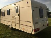 Bailey Pageant 4 berth L shape 2000 TOURING CARAVAN No Damp