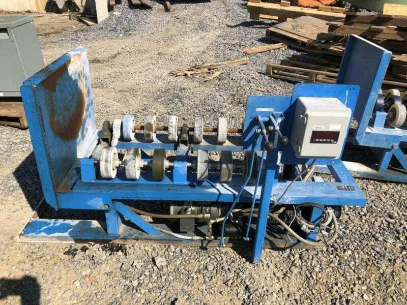 Morse 156S Hydraulic Drum Roller 1000lb Liquid / 400lb Dry