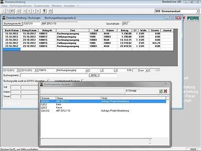 Finanzbuchhaltung Software, FiBu-Programm, Buchhaltung (direkt vom Hersteller)