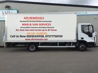 CHEAP Removal Service Moving Office Furniture House Waste Clearance Man & Van Hire UK & Europe