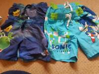 Twins shorts 2-4 years