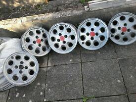 5.5 x 14 clasic ford orion/escort alloys x5