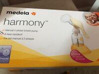 Medela harmony manual 2-phase breast pump