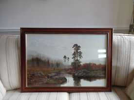 """A Gerald Coulson Print framed - """"Silent Majesty"""""""