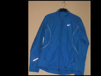 Womans blue Nike running jacket Medium