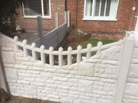 2ft x 6ft gravel boards / toppers