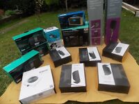 A Selection of Docking stations / Speakers and Other Items