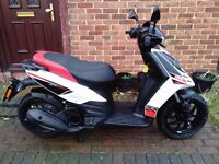 2016 Aprilia SR MOTARD 125 automatic scooter, super low mileage, very good runner, not typhoon ps sh