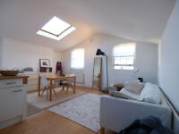 A bright & modern top floor appartment with separate sleeping area close to Angel tube & Upper St