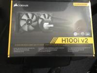 Corsair h100i v2 new and sealed