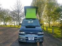 MAZDA BONGO AUTO FREE TOP 4 BERTH CAMPERVAN! 8 SEATER, TVS, HEADPHONES, STEREO!