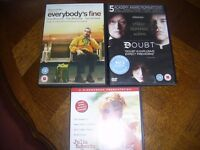 160 Region 2 DVD's All Titles Listed 50p EACH or 3 for £1 - Collect Northampton