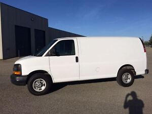 2011 Chevrolet Express 2500 CARGO VAN Only 94km