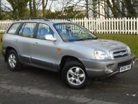 2006 (06) Hyundai Santa Fe 2.4 CDX | LONG MOT | HPI CLEAR | FULL LEATHER | IMMACULATE