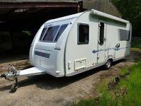 Adria Adiva 532UP 4-Berth Caravan for sale (2006 one careful owner)