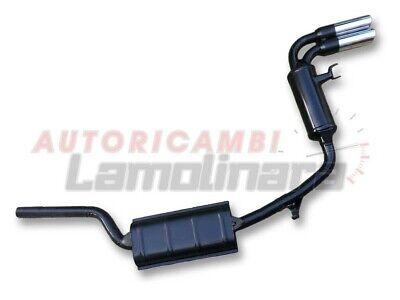 Autobianchi A112 ABARTH Marmitta Sportiva silenziatore Centrale + posteriore