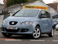 2007 REG SEAT ALTEA REFERENCE SPORT 1.6cc 5 DOOR.