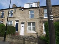 5-BEDROOMED mid-terraced house in Crookes within close proximity of the University & local shops.