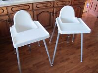 Ikea Antilop High Chair with tray - 2 available - £5 each