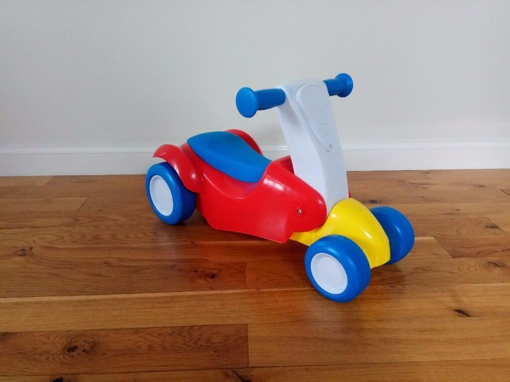 Fisher Price Ride 2 Scoot (Ride-on and Scooter in 1)
