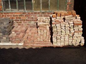 "2"" RECLAIMED HANDMADE BRICKS"