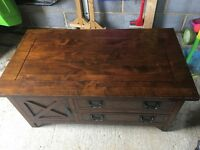 Laura Ashley Coffee Table / Cabinet