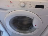 hoover 9 kg washing machine perfect working order free delivery and connect it