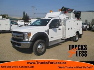 2017 Ford F-550 XLT 4X4, UNUSED SERVICE TRUCK!!!