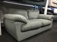 New / Ex Display - dfs Grey 3 Seater Sofa