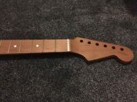 Warmoth Roasted Maple Stratocaster Neck - BEAUTIFUL NECK IN FANTASTIC CONDITION!
