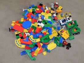 Big Lego duplo lot with police car (Set 2)