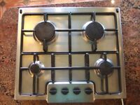 LPG converted stainless steel gas hob