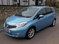 Nissan Note 1.5 dCi Tekna 5dr (sonic blue) 2014