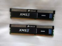 Corsair CMX4GX3M2A1600C9 XMS3 4GB (2x2GB) DDR3 1600 Mhz CL9 Performance Desktop Memory Kit