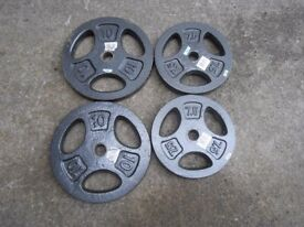 69kg of Metal Weight plates
