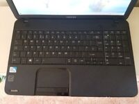 Toshiba C850 Laptop Intel Pentium, 8gb memory, 500gb, windows 10, As New condition