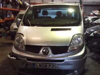 Renault Trafic 2008 Breaking All Parts