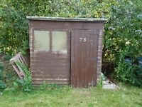 Shed 6x4ft