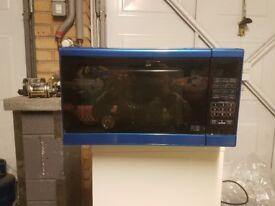 Paint spraying microwaves
