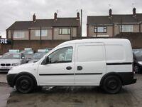 Vauxhall Combo 1.7 CDTi 16v 2000 Panel Van 3dr DOUBLE SIDE DOORS + REAR SEATS