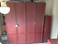 Full bedroom suite /Wardrobes/Chest drawers/Bedside units