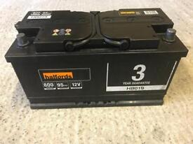 Heavy Duty halfords battery for diesel