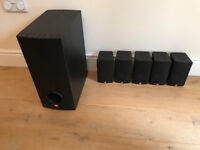 JBL Speakers and Sub Woofer