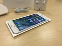 Boxed Silver Apple iPhone 6 16GB Mobile Phone on ee / t mobile / virgin + Warranty
