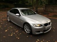 2007 57 BMW 330D M SPORT A COUPE SILVER