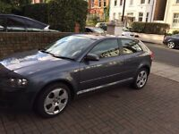 Very good condition half leather with mot low milage