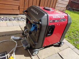 Honda EU26i Inverter Generator with wheel kit - Good condition