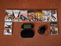 Black Sony PSP